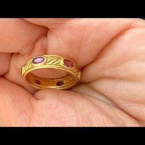 18k DY eternity ring